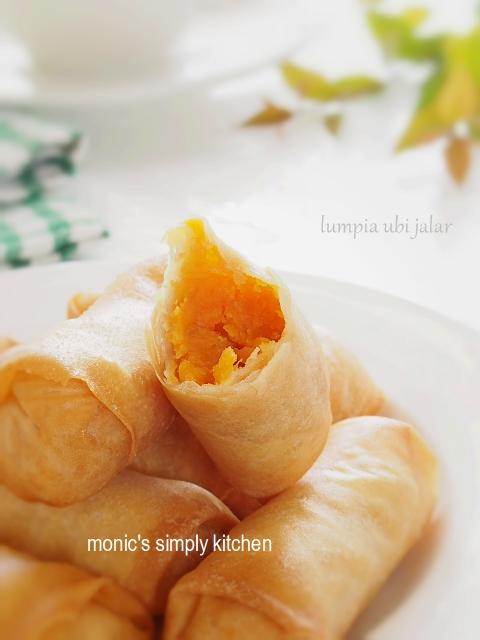 resep lumpia ubi jalar orange