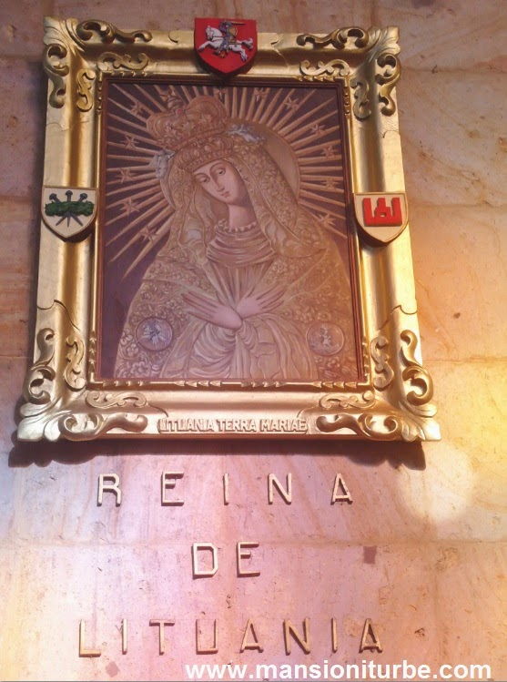 Virgin of Lithuania at the Fatima's Shrine in Tacámbaro, Michoacán
