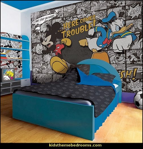 Decorating theme bedrooms maries manor mickey mouse for Mickey mouse home decorations