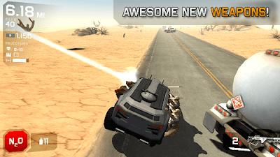 Zombie Highway 2 v1.3.1 Mod Apk Data (Super Mega Mod) 2
