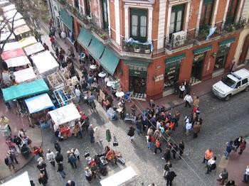 Domingos, en San Telmo, Buenos Aires, Argentina.