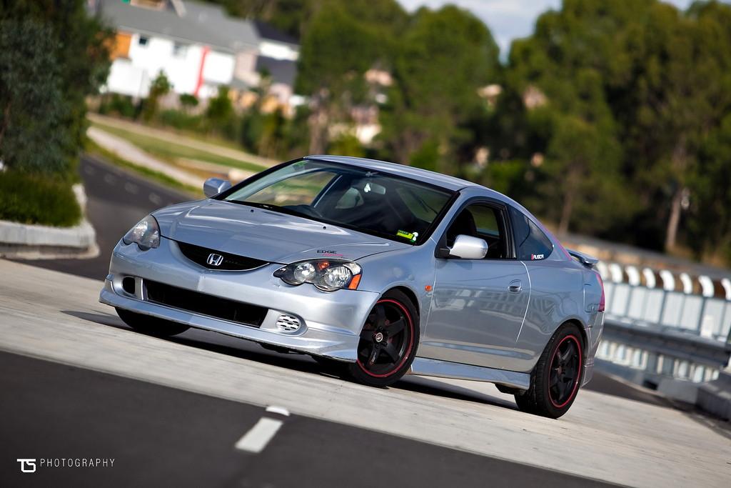 niskie, sportowe, zawieszenie, Honda Integra