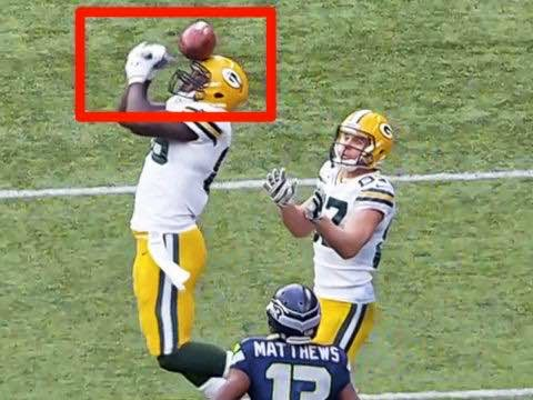 Brandon Bostick vs seahawks. Not a Catch. - #BrandonBostick #Packershaters #NotaCatch