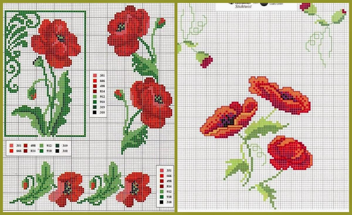 Вышивка крестиком схемы для вышивки картинки