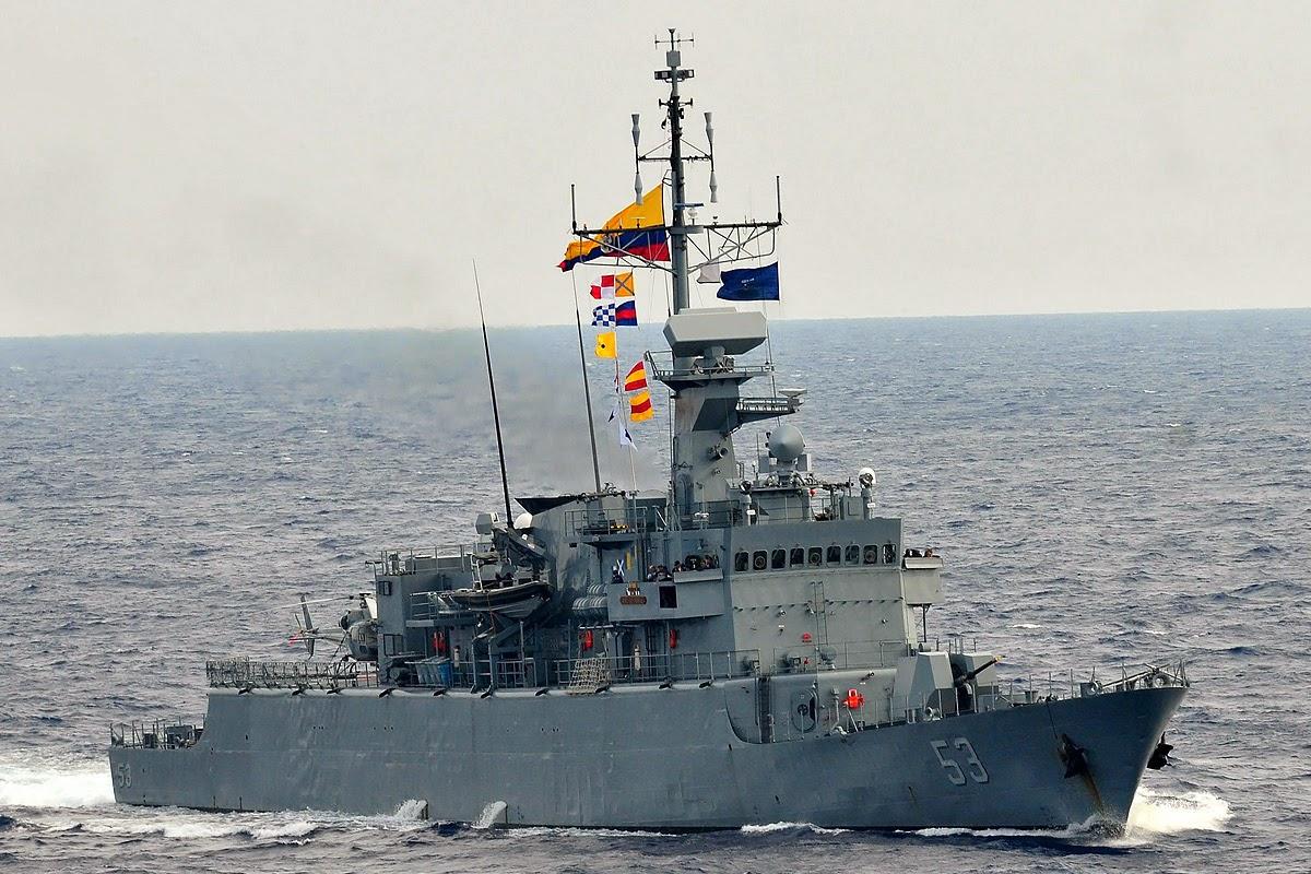 ARC Almirante Padilla Fragatas Armada Colombia