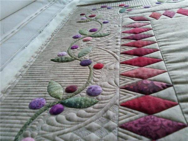 Mis labores patchwork malaga nuevo curso acolchado artistico - Acolchados en patchwork ...
