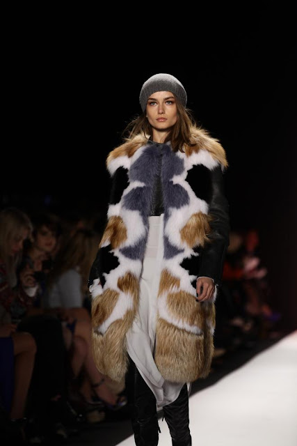 NYFW: BCBG Luxe Textures for Fall 2013