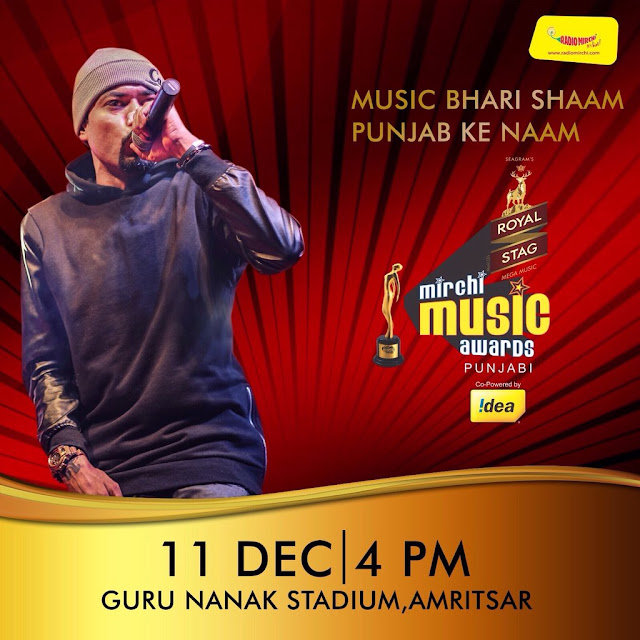 BOHEMIA - LIVE at the Mirchi Music Awards in Amritsar on Dec 11th - team bohemia