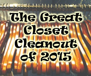 great closet clean out of 2015