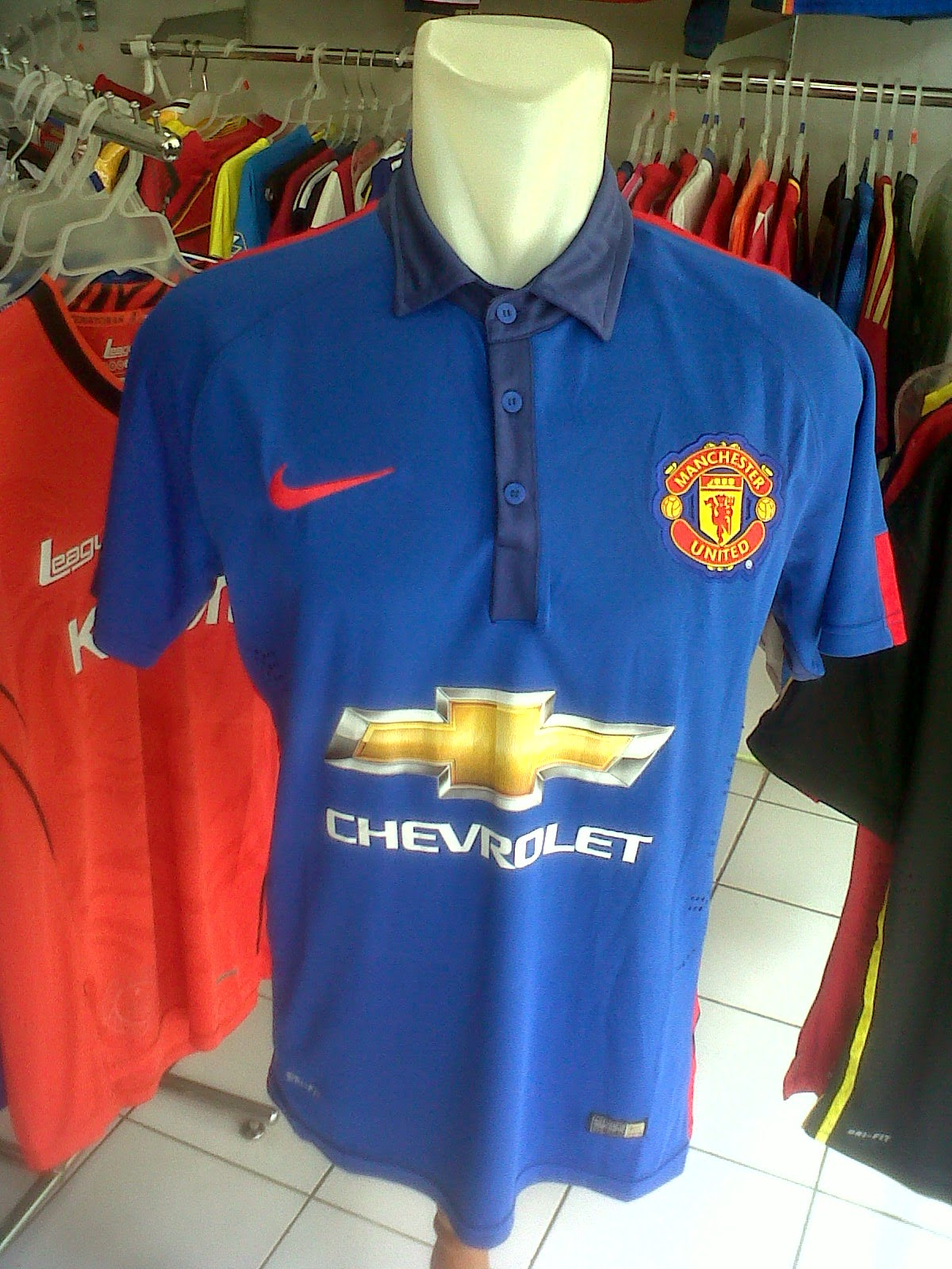 Jersey Manchester United 3rd 2014/2015