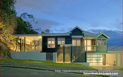 House renovation brisbaneaustralia minimalist home designs for Minimalist house renovation