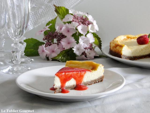 Le (faux) cheesecake américain (fromage blanc, spéculoos, citron vert)