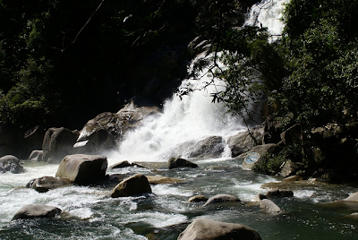 Toc Tien waterfall