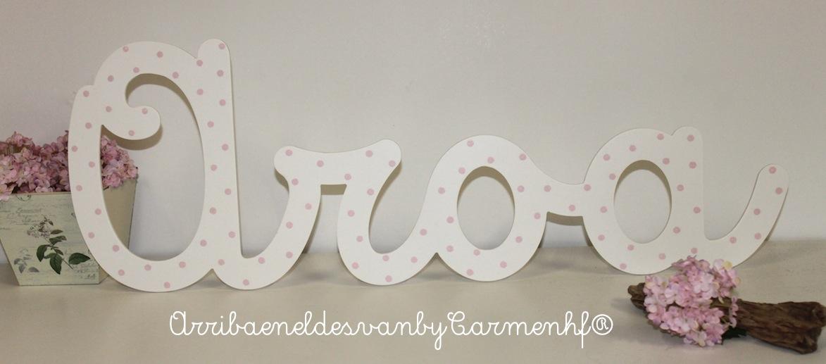 12 dec letras decorativas infantiles decoraci n - Letras decorativas infantiles ...