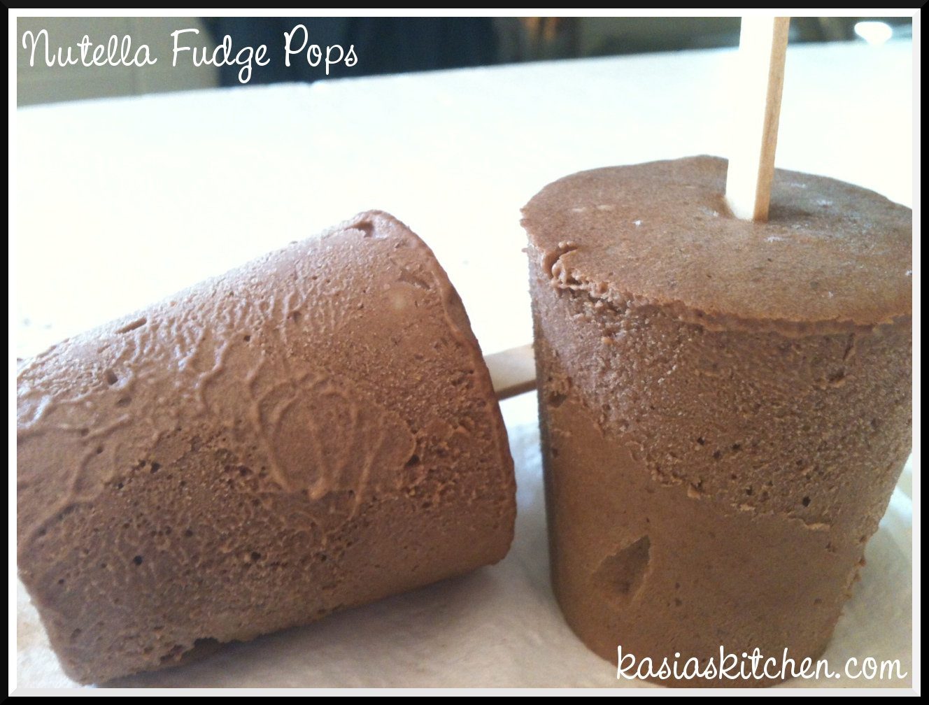 Kasia's Kitchen: Nutella Fudge Pops