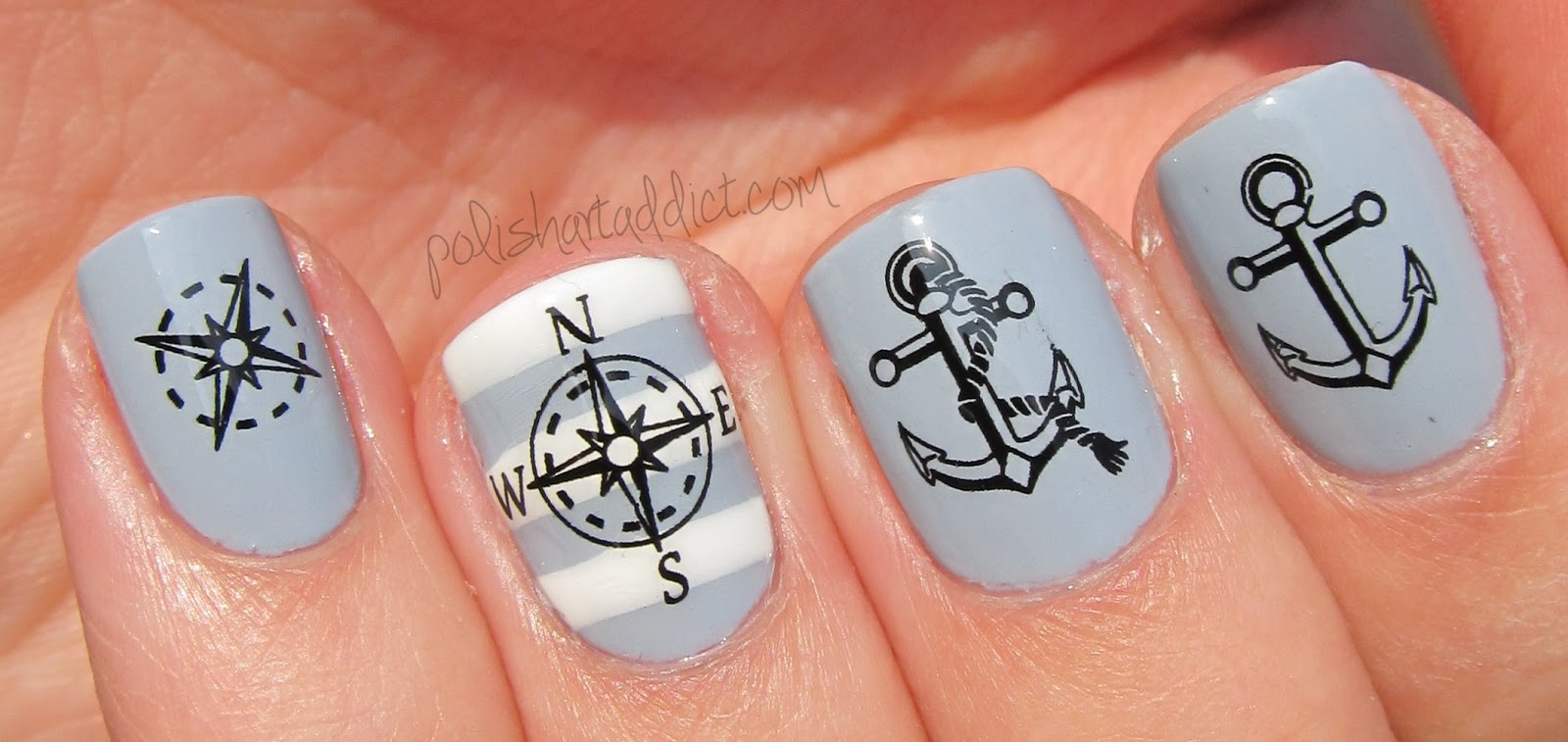 Nautical Water Decals