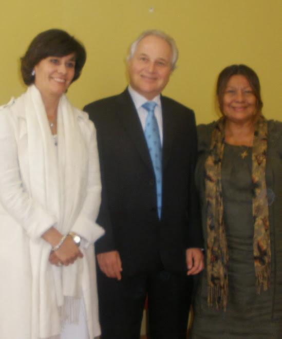Visita a Vigo del Embajador del Perú  en España D. Francisco Eguiguren Praeli       ,