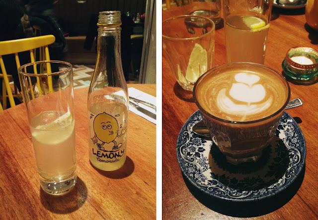Lemonade and latte - hendersons vegan Edinburgh