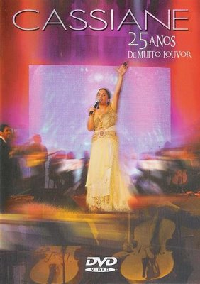 DVD Cassiane Ao Vivo 25 Anos de Muito Louvor Dvdip