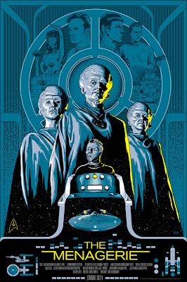 "Star Trek ""The Menagerie"" Screen Print by Mike Saputo"