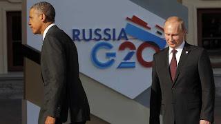 Putin and Obama G20 Summit St Petersburg