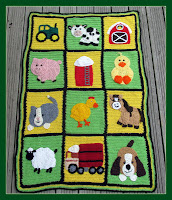 Farm Blanket Pattern