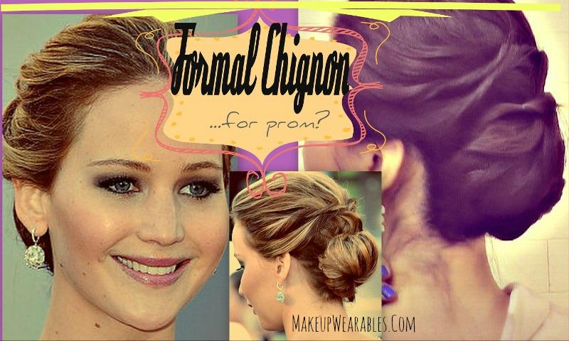 Jennifer Lawrence Updo Hairstyles Formal Hair Tutorial Video
