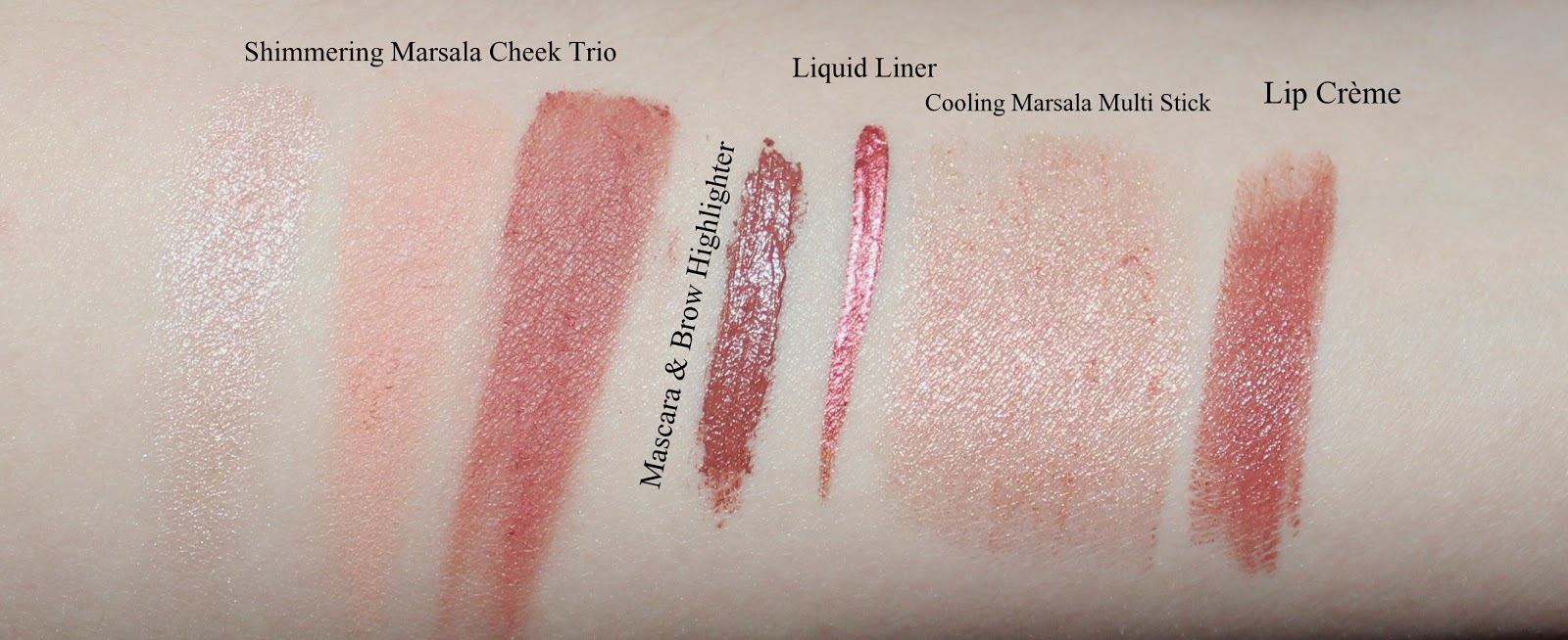 Sephora + Pantone Color of the Year 2015 Marsala Collection
