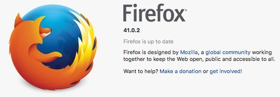 Firefox 41.0.2 disponível para Ubuntu.
