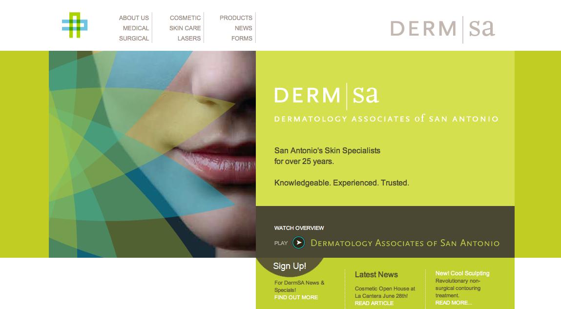 dermatologists websites