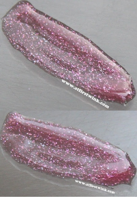 Peripera My Color Gloss no. 13 - Cherry Pink, close-up