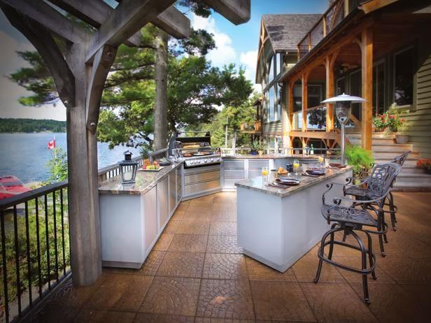 Design with nice View, Desain Dapur dengan Pemandangan Indah
