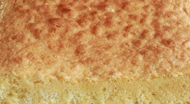 masa de bizcocho para tartas paso 0