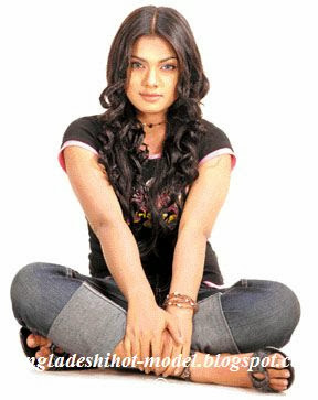 Bangladeshi actress Tisha