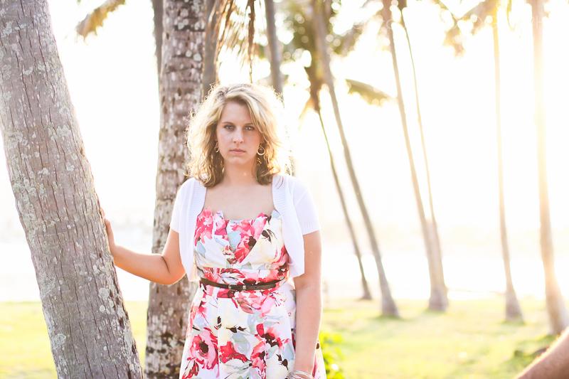 palm beach senior portrait photography
