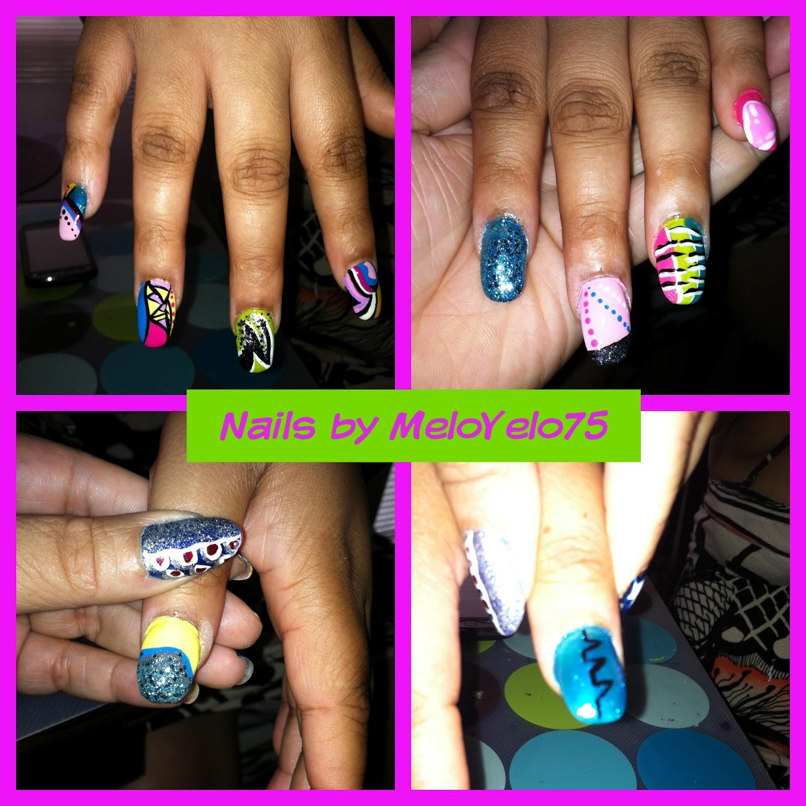 Nail design passion (@meloyelo75 instagram) | MeloYelo75 Nails ...