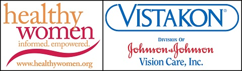 HealthyWomen Vistakon logo