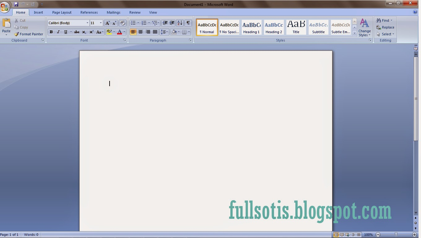 Microsoft Office Word Free Download Full Version