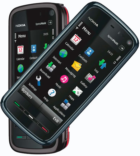 Hot ñ Cool Mails: Nokia 5800 XpressMusic