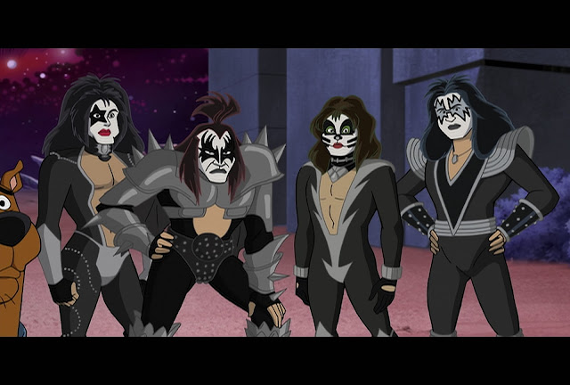 Scooby-Doo! the movie, KISS 2015 new song, Scooby-Doo! and KISS: Rock and Roll Mystery DVD