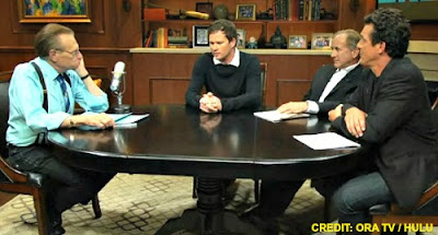 Larry King, James fox, Michael Shermer & Tom DeLonge on Larry King Now