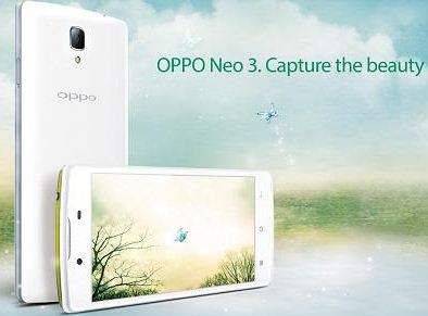 Specifications Oppo Neo 3 R831k And Explanation Creativity