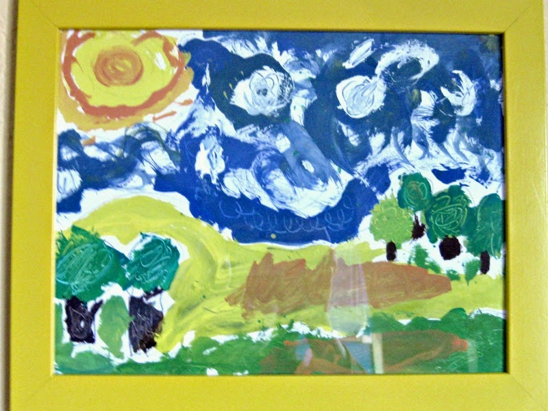 Van Gogh Guided Art
