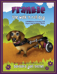Frankie the Walk 'N Roll Dog Coloring and Paper 'Doll Activity Book