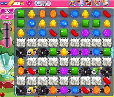 Candy Crush Saga 582
