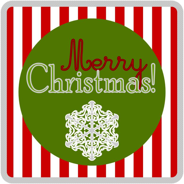 Crafty image with merry christmas printable