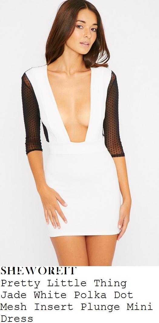 chloe-goodman-white-black-polka-mesh-mini-dress