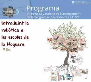 http://blocs.xtec.cat/jornadaprograma/introduint-la-robotica-a-les-escoles-de-la-noguera/