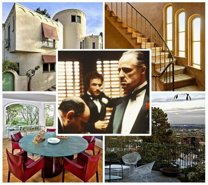 We want to go back to 70's era, which is closer to where The Godfather's filming work.  Cause Marlon Brando is serving up his luxurious Home at Los Angeles on market for a whopping £ 2.3 million or $ 3.5 million.