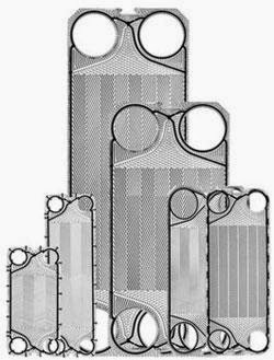 Plates of Plate and Frame Heat Exchanger